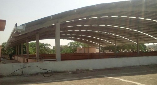 Industrial Steel Dome Shed
