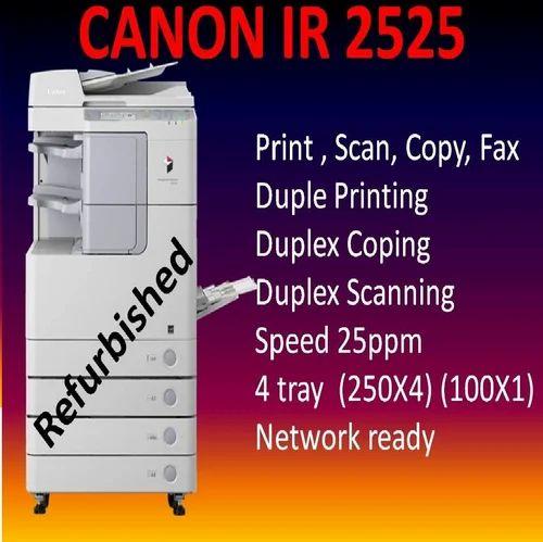 Canon IR 2525 Refurbished Photocopier, Memory Size: 256MB
