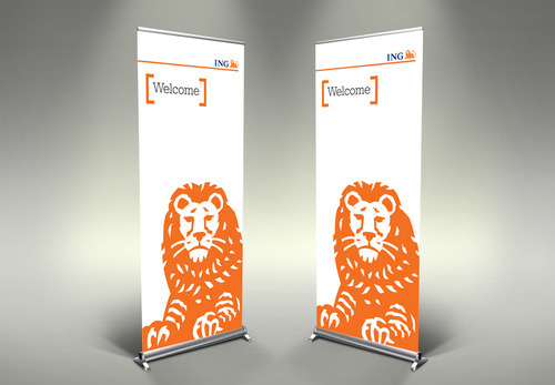 Roll Up Standees At Rs 750 pieces