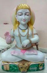 Baba Balaknath Marble Statue
