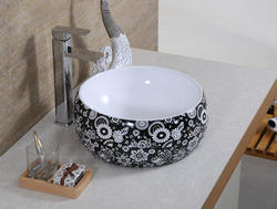 Black Top Size : 400 X 400 X 145 Sanitary Ware