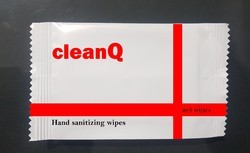 CleanQ Hand Sanitizing Wipes