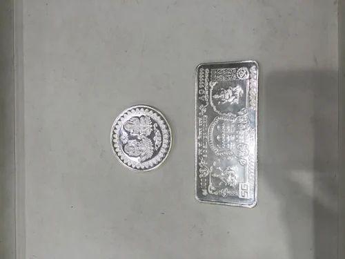 Silver Coins Beli Ram Tara Chand Jain Manufacturer In