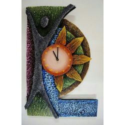 Retailer of Designer Wall Clock Designer Wall Clock by Yugal Art