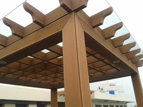 Pergola Roof Wpc Pergola Manufacturer From Chennai