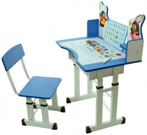 Wood Red And Green Kids Learning Tables