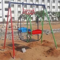 Circular Swing With Fiber Seats