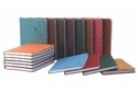 Synthetic Pu Leather Design Dairy Art Paper Diaries, For Daily Notes, Yearly