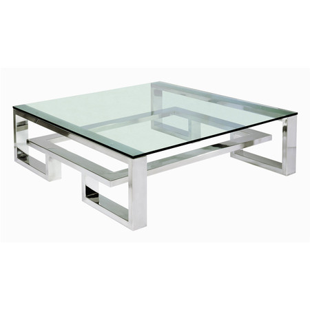 Ordinaire Stainless Steel Center Contemporary Table SCT1
