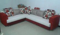 Wood 8 Seater Full Cover Sofa Set