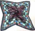 Silk Printed Tabby Scarves