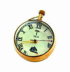 Antique Pocket Nautical Watch