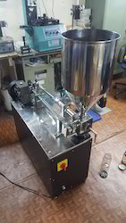 Semi Motorized Paste Filling machine