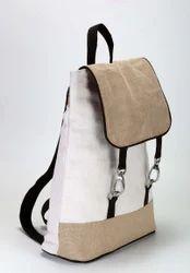 Custom Jute School Bag, Size/Dimension: 40 X 30 X 11 Cm