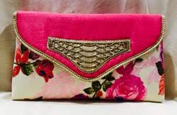 Floral Work Graceful Clutches