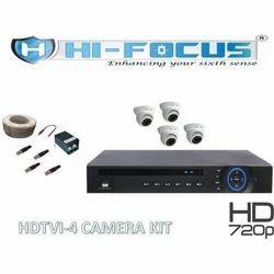 Hi-Focus HCVR 4 Channel DVR Set
