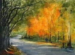 watercolor paintings at rs 6500 piece paani ke rang wali