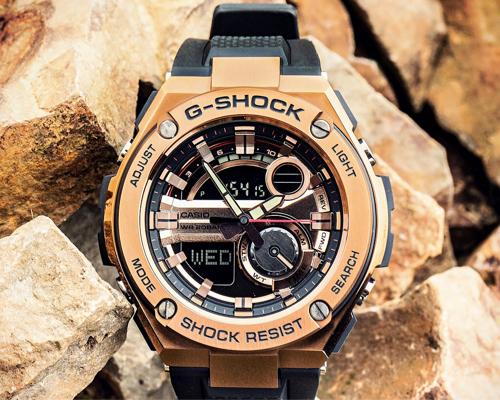 de22dea57c1 ... Mens Wrist Watches. G-Shock G Steel GST210B-4A