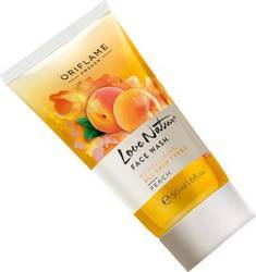 Not Sure Oriflame Sweden Love Nature Peach Face Wash (50 Ml)