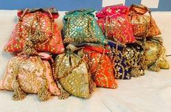 Traditional  Gotta Patti Potli Bag