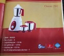 Bajaj Mixer Classic 750wats