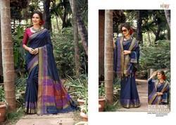 Hraj Chanderi Fabric With Shawl Sarees