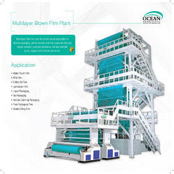 Co-Extruded PE Blown Film Machine