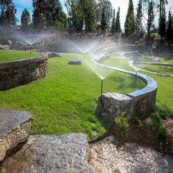 Front Yard Home/Residence Landscape Irrigation Service