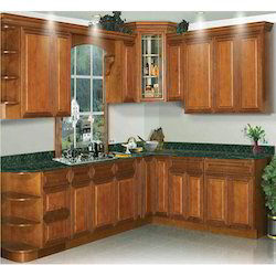 Multicolor Readymade Kitchen Cabinet