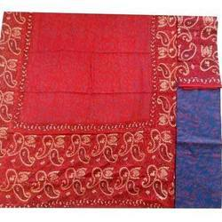 Red Variant Chanderi Suit
