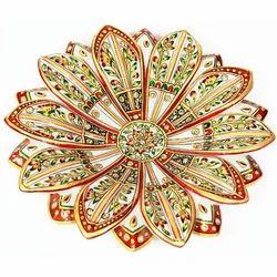 Golden Marble Fruit Bowl Design MB085