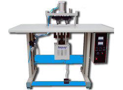 Manual Handle Loop Pasting Machine