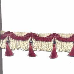 Pankha Jhalar Curtain Lace