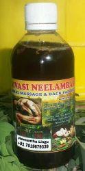 Adivasi Neelambari Herbal Massage Oil for Clinical