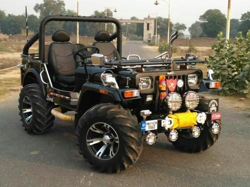 Mahindra Black Modified Jeep 2002 Jai Durga Jeep Bazer Id