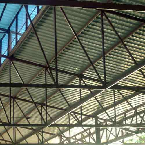 Metal Roof Truss Roof Truss Raviteja Enterprises