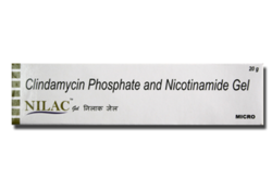 Nilac Clindamycin Phosphate & Nicotinamide Gel