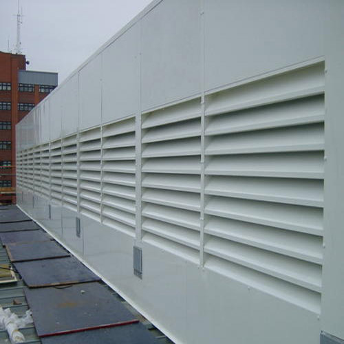 Acoustic Louvres Acoustic Louvres For Generator Room