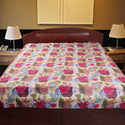 Kantha Work Bed Cover