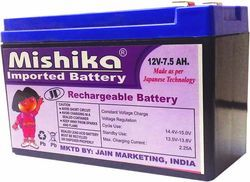 Mishika Rechargeable Battery