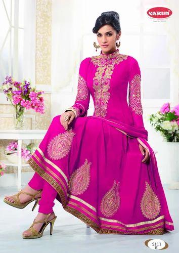 606ce50441e Anarkali Semi-Stitched Salwar Suits at Rs 1250  piece(s)