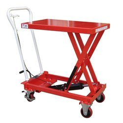 Hand Operated Hydraulic Single Scissor Platform
