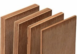 Poplar Wood Semi Waterproof Plywood, Thickness: 6-18 mm