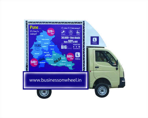 Advertising Van Promotion, Mobile Van Activity, Pune