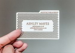 Metal business card at best price in india metal visiting cards reheart Choice Image
