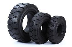Solid Forklift Resilient Tyres