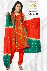 Cotton Ladies Suit 3pcs Batik