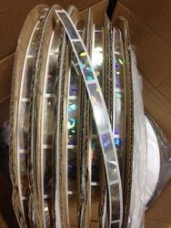 Polyester Golden Hologram Scratch Labels, Packaging Type: Roll