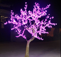 Single Multi Color LED Tree