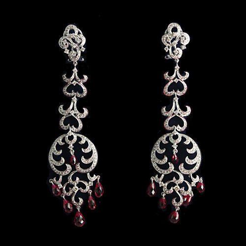 090653016 Long Diamond Earrings at Rs 492900 /piece | Mumbai | ID: 13933459030